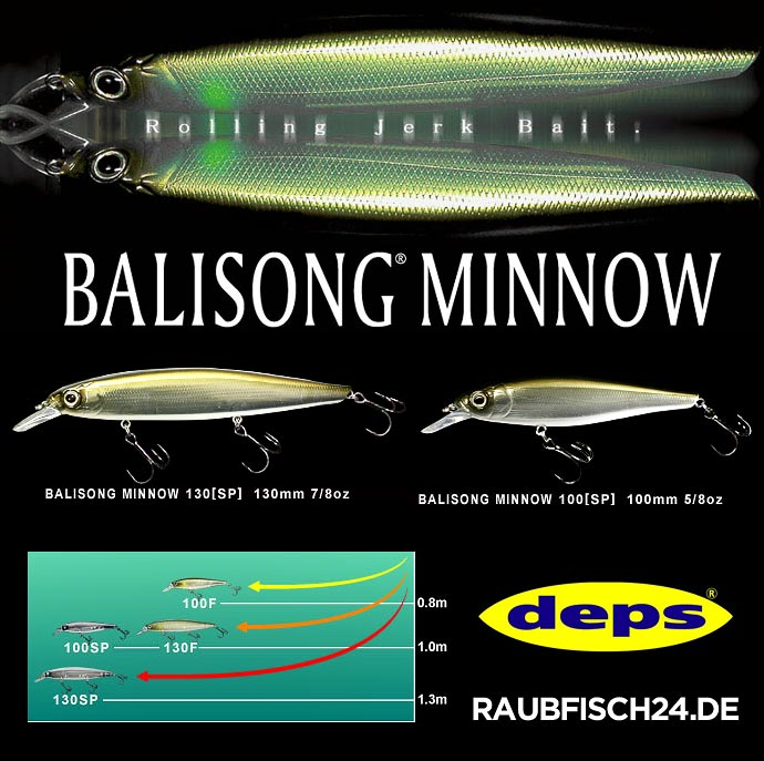 Deps Balisong Minnow