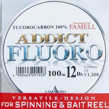 Yamatoyo Fluorocarbon Addict Fluoro 100m 12lb
