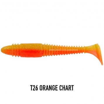 Lucky John Tioga Fat T26 Orange Chart
