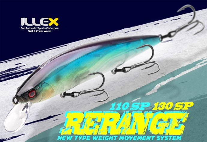 Illex Rerange 130 SP