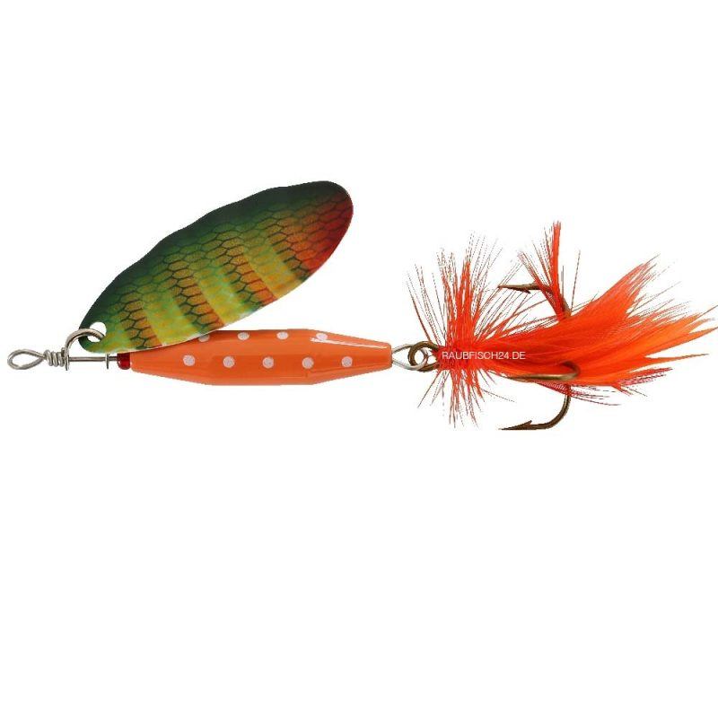 Abu Garcia Reflex Red Yellow Perch