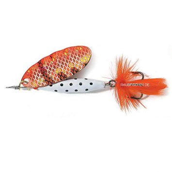 Abu Garcia Reflex White Copper Red Flash