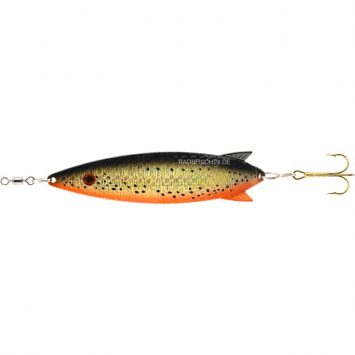 Toby Salmo Orange Copper Glitter