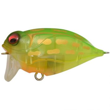 Megabass Noisy Cat Flipper Crystal Lime Frog