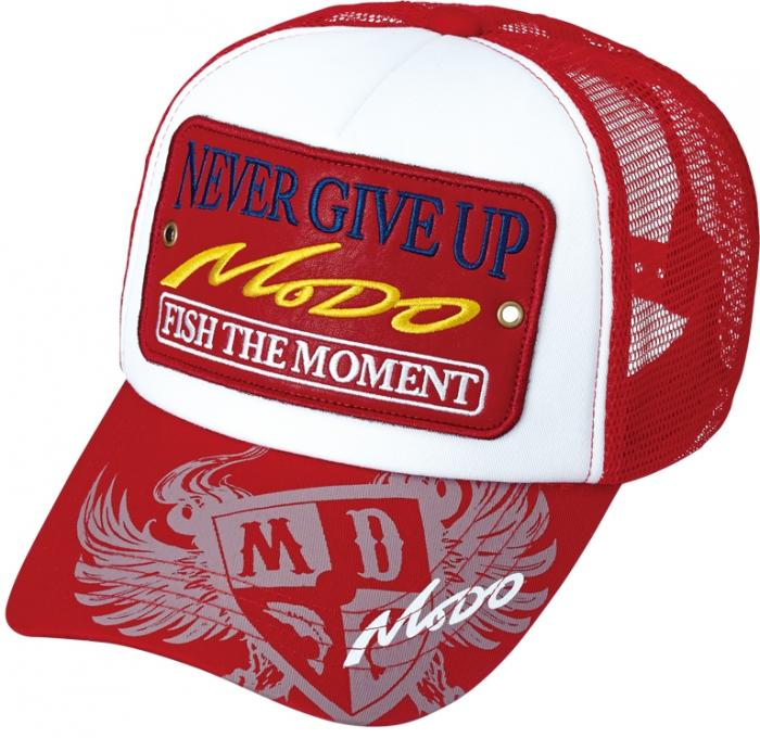 Ever Green Modo Mesh Cap Type 3 Rot Weis