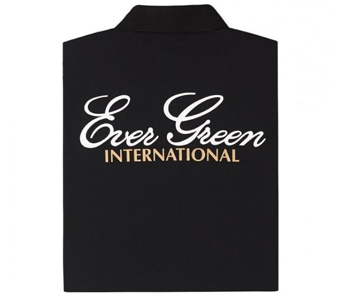Ever Green E.G. Dry Polo Shirt (Type A) Schwarz
