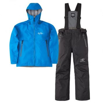 Ever Green E.G. Rain Suit EGRS-302 Blau Schwarz