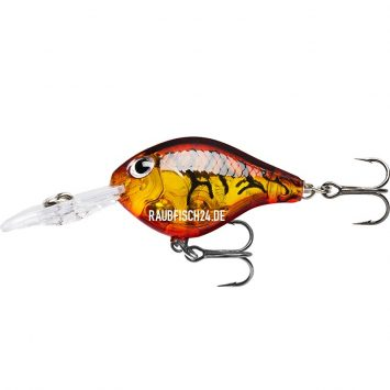 Rapala Ultra Light Crank Glass Amber Tiger UV