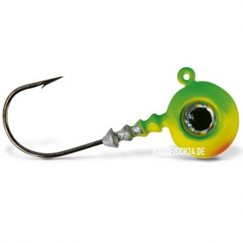 VMC Jigkopf Big Eye Chartreuse Lime Green