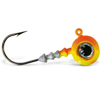 VMC Jigkopf Big Eye Chartreuse Orange