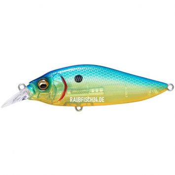 Megabass Flap Slap LBO SEETHROUGH BLUE BACK CHART