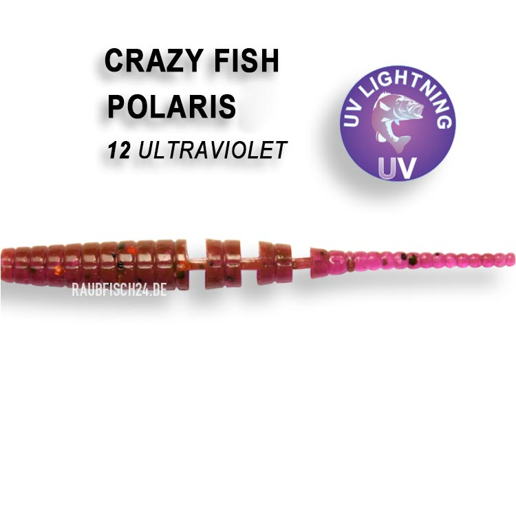 Crazy Fish Polaris 12 Ultraviolet