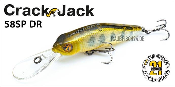Pontoon21 CrackJack 58SP-DR
