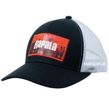 Rapala Splash Trucker Cap Schwarz / Rot