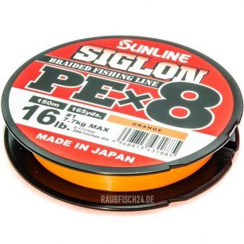 Sunline Siglon PE X 8 Orange 150m
