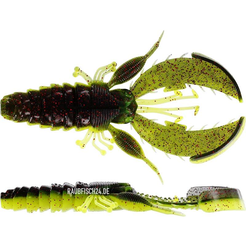 Westin CreCraw Creaturebait Black Chartreuse